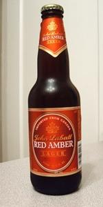 John Labatt Red Amber