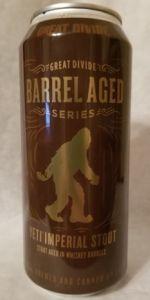 Barrel Aged Yeti