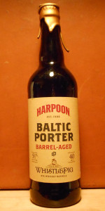 Baltic Porter Barrel aged Whistlepig Rye