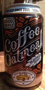 Coffee Oatmeal Stout
