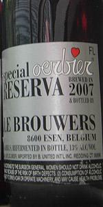 De Dolle Oerbier Special Reserva 2007 (Bottled 2008)