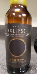 Imperial Eclipse Stout - Banana Fritter