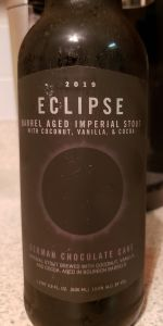 Imperial Eclipse Stout - German Chocolate Cake