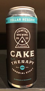 Cellar Reserve: Cake Therapy