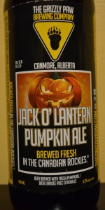 Jack O'Lantern Pumpkin Ale