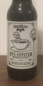 Rye Hipster Brunch Stout (Binny's Barrels)