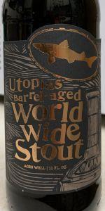 Utopias Barrel-Aged World Wide Stout