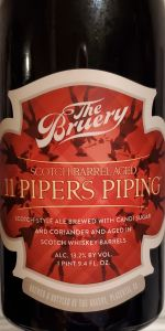 11 Pipers Piping - Scotch Barrel-Aged