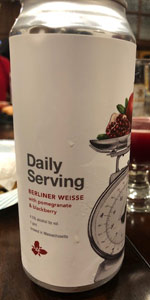 Daily Serving - Pomegranate & Blackberry