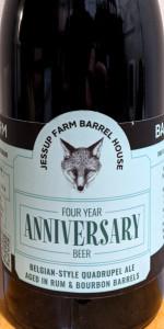 4 Year Anniversary Beer