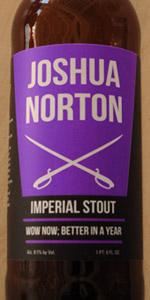 Joshua Norton Imperial Stout