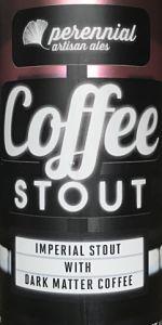 Coffee Stout 2020 - El Salvador & Guatemalan
