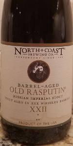 Old Rasputin XXII (Aged In Rye Whiskey Barrels)