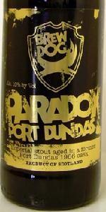 BrewDog Paradox Grain (Batch 013) - Port Dundas 1966