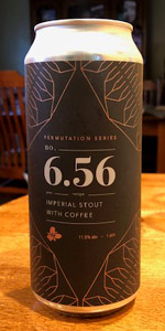 Permutation Series #6.56: Imperial Stout with Coffee