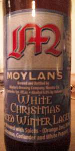 White Christmas Spiced Winter Lager