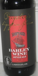 Shipyard Barley Wine Style Ale (Pugsley's Signature Series)