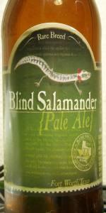 Rare Breed: Blind Salamander