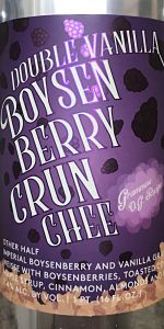 Double Vanilla Boysenberry Crunchee