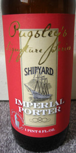 Shipyard Imperial Porter (Pugsley's Signature Series)