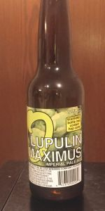 Lupulin Maximus Imperial IPA