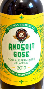 AndSoIt Gose With Apricot