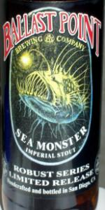 Sea Monster Imperial Stout