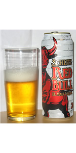 Schlitz Red Bull X. L. Xtra Long Malt Liquor