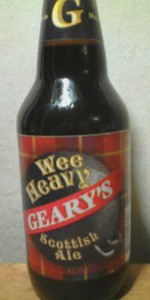 Geary's Wee Heavy Scottish Ale