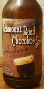 Kenmount Road Chocolate Stout