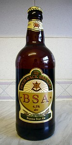 Hogs Back BSA Commemorative Ale