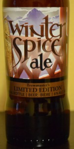Big Rock McNally's Winter Spice Ale