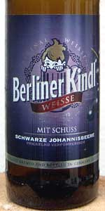 Berliner Kindl Weisse Mit Schuß Schwarze Johannisbeere