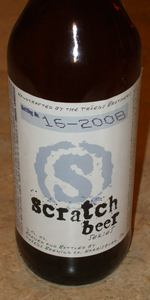 Scratch Beer 16 - 2008 (Winter Warmer)