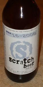 Scratch Beer 16 - 2008