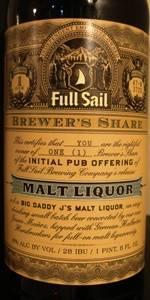 Big Daddy J's Malt Liquor