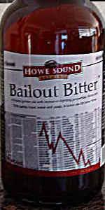 Bailout Bitter