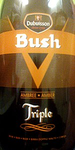 Bush Ambrée Triple