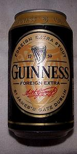 Guinness Foreign Extra Stout (Bahamas)