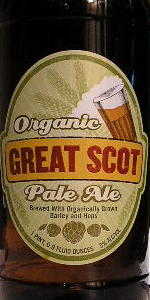 Organic Great Scot Pale Ale
