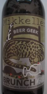 Beer Geek Brunch Weasel
