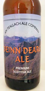 Beinn Dearg Ale