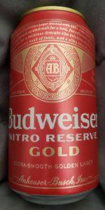 Budweiser Nitro Gold