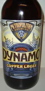 Dynamo Copper Lager