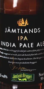 Jämtlands India Pale Ale