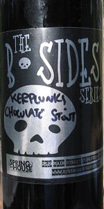 Kerplunk Imperial Chocolate Stout