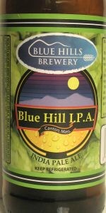 Blue Hills India Pale Ale