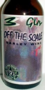 Three Guy Off The Scale Barley Wine