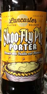 Shoo-Fly Pie Porter