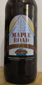 Big Rock Maple Road Farmhouse Ale